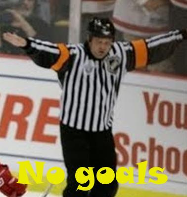 If the ref says no goal maybe it's time to kick that ref's behind...